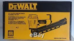 Dewalt Pneumatic Framing Nailer Frame Gun Collated 21 Degree 2 3 1/4 DWF83PL
