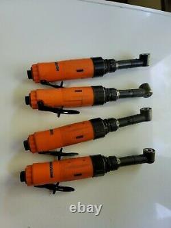 Dotco Pneumatic Right Angle Drill 15ln282-52 2170 RPM 1/4-28 Aircraft Tool