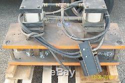 Double Punch Press Die Shoe Tooling 2 Pneumatic Air Bench Press Bimba Trd Twin