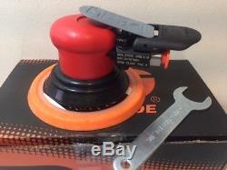 Dynabrade 21035 Air Tool Pneumatic Random Orbital Sander 6 Diameter Disc