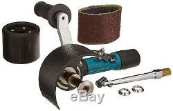Dynabrade Air Pneumatic Mini-Dynisher Metal Finishing Tool Versatility Kit