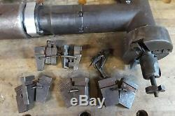 Esco 1097 Mill Hog Pneumatic Boiler Pipe Beveling Tool withTooling & IR Air Motor