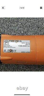 FEIN AIR Detail SANDER MOX 6-25 with70 Sanding pads Pneumatic Oscillating Tool