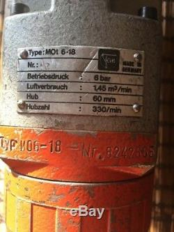 FEIN Mot. 6-18 MOt 6-18 RECIPROCATING Pneumatic Hacksaw Steel Air Tool Germany