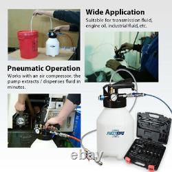 FIRSTINFO 6 Liter TWO WAY Air/Pneumatic ATF Refill System Dispenser