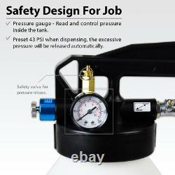 FIRSTINFO 6 Liter TWO WAY Air/Pneumatic ATF Refill System Dispenser-US