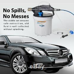 FIT TOOLS 2L Pneumatic / Air Brake Fluid / Oil Extractor Bleed / Bleeder / Pump