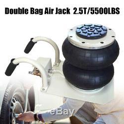 Fast Lift 5500LBS Double Bag Air Jack Pneumatic Jack Lift Jack Jacking Tool