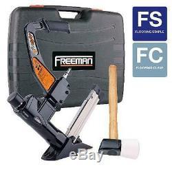 Floor Flooring Nailer Air Pneumatic Nailers Staple Gun Nailgun Tool Equipment