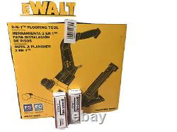 Floor Nailer Nail Air Tool Pneumatic Mallet DWFP12569 DEWALT With 2000 Nails