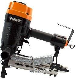Freeman Pneumatic Fencing Stapler 9 Gauge Barbed Stapler Air Tool Fastener Case