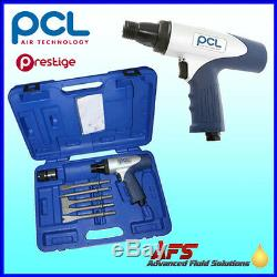 Genuine PCL AIr Hammer & Chisel Tool Set Kit APP500SET Pneumatic Cold Chisels UK