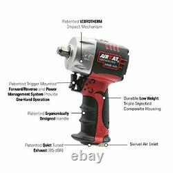 Half Inch Impact Wrench Gun Air Stubby Pneumatic 1/2 Inch 1/2in Compact Short In