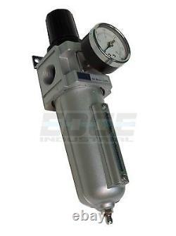 Heavy Duty Air Compressor Filter Regulator, 250 Psi, 3/4 Npt, Pneumatic Tools