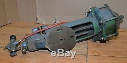 Huge 110 lb pneumatic vise blacksmith air actuated production tool knife maker
