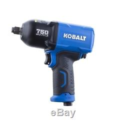 Kobalt Impact Wrench Pneumatic 1/2-in Drive 0.5-in 750-ft Air Tool Gun NEW