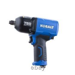 Kobalt Impact Wrench Pneumatic 1/2-in Drive 0.5-in 750ft Air Tool Gun Automotive