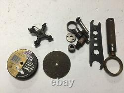Lot Pneumatic Air Tools Ingersol Rand Jet Black & Decker Accessories