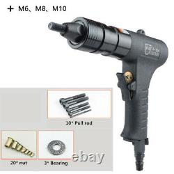 M6 M8 M10 Pneumatic Riveters Pneumatic Pull Setter Air Rivets Nut Gun Rivet Gun