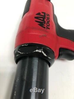 MAC Tools MPH1911 Pneumatic Long Barrel Anti-vibration Air Hammer Kit with Bits