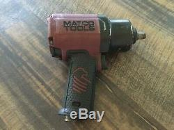 MATCO Tools 1/2 Drive Pneumatic Air Impact Wrench MT2779 Red