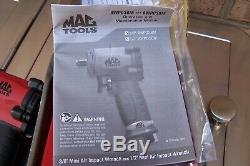 Mac Tools 1/2 Drive 10,000RPM Mini Air Pneumatic Impact Wrench, Part # AWP050M