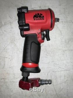 Mac Tools 3/8 Drive Mini Air Pneumatic Impact Wrench AWP038M Tool