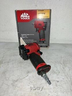 Mac Tools Mini 1/2 Drive Air Pneumatic Impact Wrench Tool AWP050M