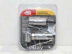 Mac Tools Mini Die Grinder Set AG14/AG14AH Air Pneumatic 1/4 Collet Straight/90
