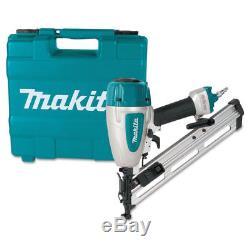 Makita 34-Deg. 15-Gauge 2-1/2 in. Pneumatic Angled Finish Nailer AF635 New