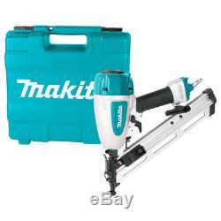 Makita AF635 15ga 2-1/2-Inch Powerful Pneumatic Lock-Out Angled Finish Nailer