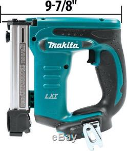 Makita Pneumatic Stapler Air Nailer Nail gun 18V 3/8 in. Crown Staples Tool Only