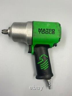 Matco MT2769 1/2 Drive Pneumatic Heavy Duty Air Impact Wrench Tool Green