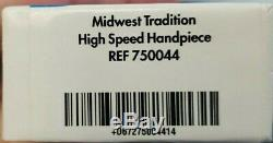 Midwest Tradition High Speed Handpiece 750044 Standard 4-Hole With Tools