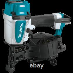 NEW Makita 15 Degree 1-3/4 in. Pneumatic Coil Roofing Nailer FREE SHIPPING