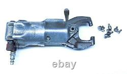 Nice Chicag Pneumatic A Rivet Squeezer with 1-1/2 Jaws & Sets Aircraft Tools