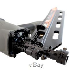 NuMax Pneumatic 21-Degree Nail Gun Full Head Strip Framing Nailer Angle Air Tool