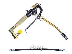 POP13UPG Pneumatic Grease Gun Dispenser 13L Pump Air Operated Greaser Tool 501