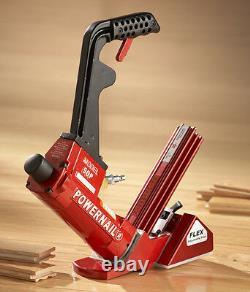 POWERNAIL 50P FLEX Power Roller Hardwood Flooring Cleat Nailer Pneumatic