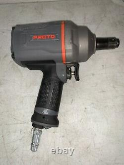 PROTO 3/4 Drive, 5,300 RPM, 1,560 Ft/Lb Torque Air Pneumatic Impact Wrench Tool