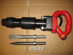 Pneumatic Air 4 Bolt Chipping Hammer CH3RHX + 2 Bits