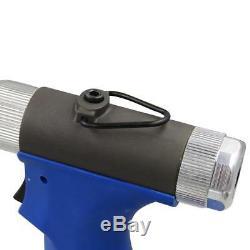 Pneumatic Air Hydraulic 1/4''Pop Rivet Gun Riveter Industrial Nail Riveting Tool