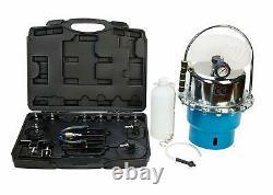 Pneumatic Air Pressure Bleeding Tool Brake Clutch Bleeder Valve System Tool Kit