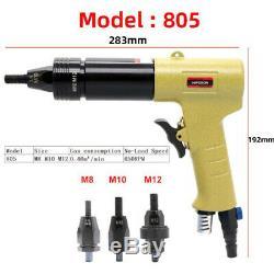 Pneumatic Air Rivet Nut Guns Rivnut Tool For M3 M4 M5 M6 M8 M10 M12 Nuts