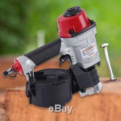 Pneumatic Coil Nailer CN55 Air Coil Nail Gun Tool for Wooden Furniture US SHIP