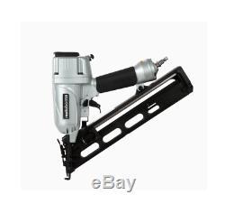 Pneumatic Nailer 15 Gauge 30 Degree Finish Integrated Air Duster Adjustable Tool