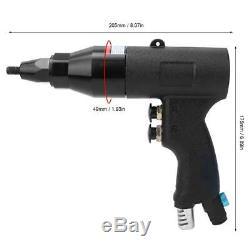 Pneumatic Rivet Nut Gun Rivnut Setting Gun Riveter Air Riveting Tool M6-M8