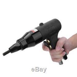 Pneumatic Rivet Nut Gun Rivnut Setting Gun Riveter Air Riveting Tool M8 M10