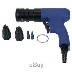 Pneumatic Riveter Air Rivet Nut Gun Pull Nut Nail Gun Air Riveting Tool 1000RPM