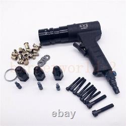 Pneumatic Riveter Pop Rivet Gun SelfLocking Power Riveting Tool M5/M6/M8 750rpm